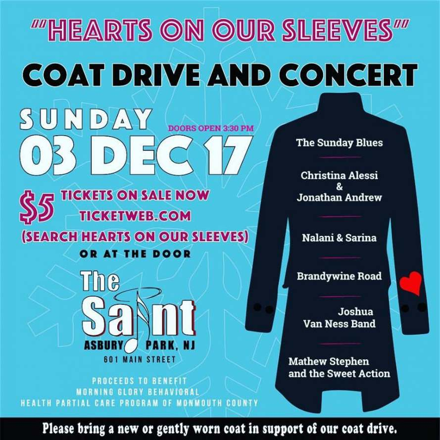 Hearts on Our Sleeves 12/3/17