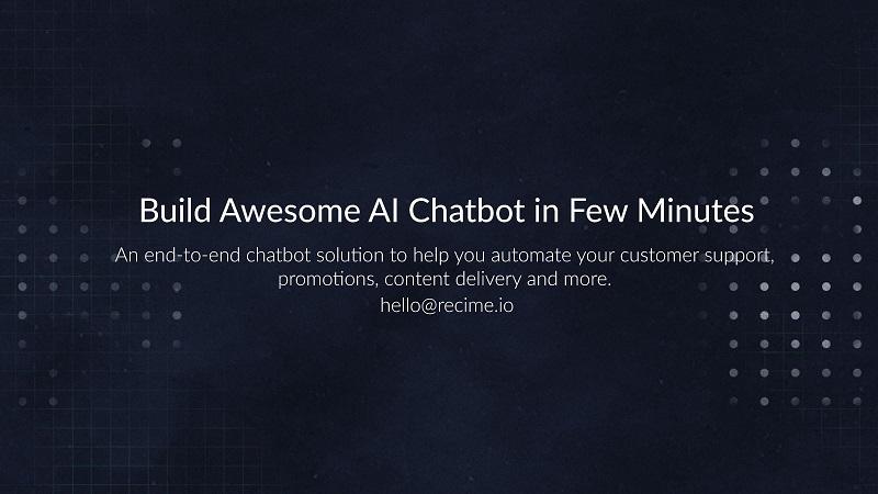 Recime Chatbot Platform