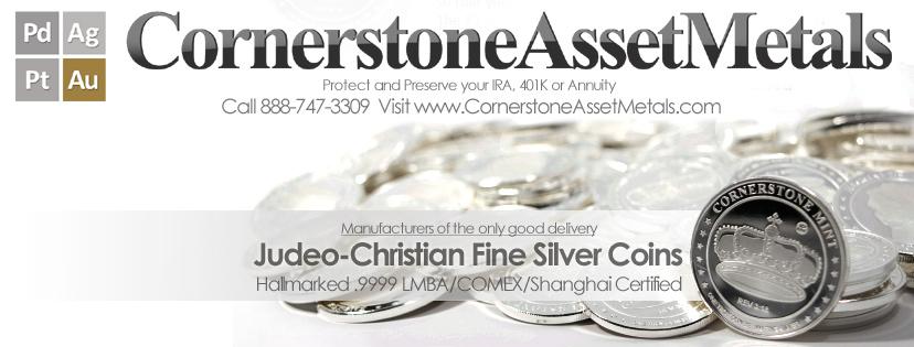Cornerstone Asset Metals @CornerstoneAssetMetals