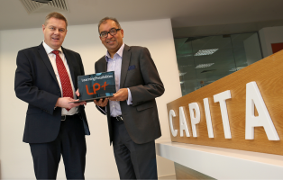 Dr Mehool Sanghrajka of Learning Possibilities and Paul Roche of Capita