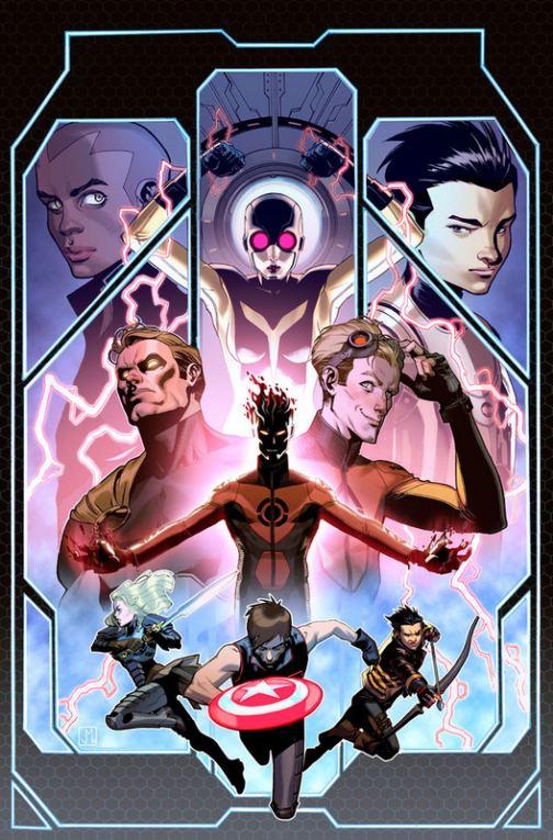 Jorge Molina, 'Avengers World #14'