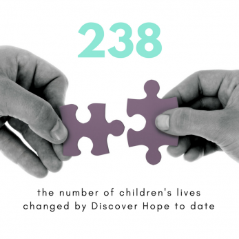 Discover Hope has changed the lives of 238 in the past 5 years.