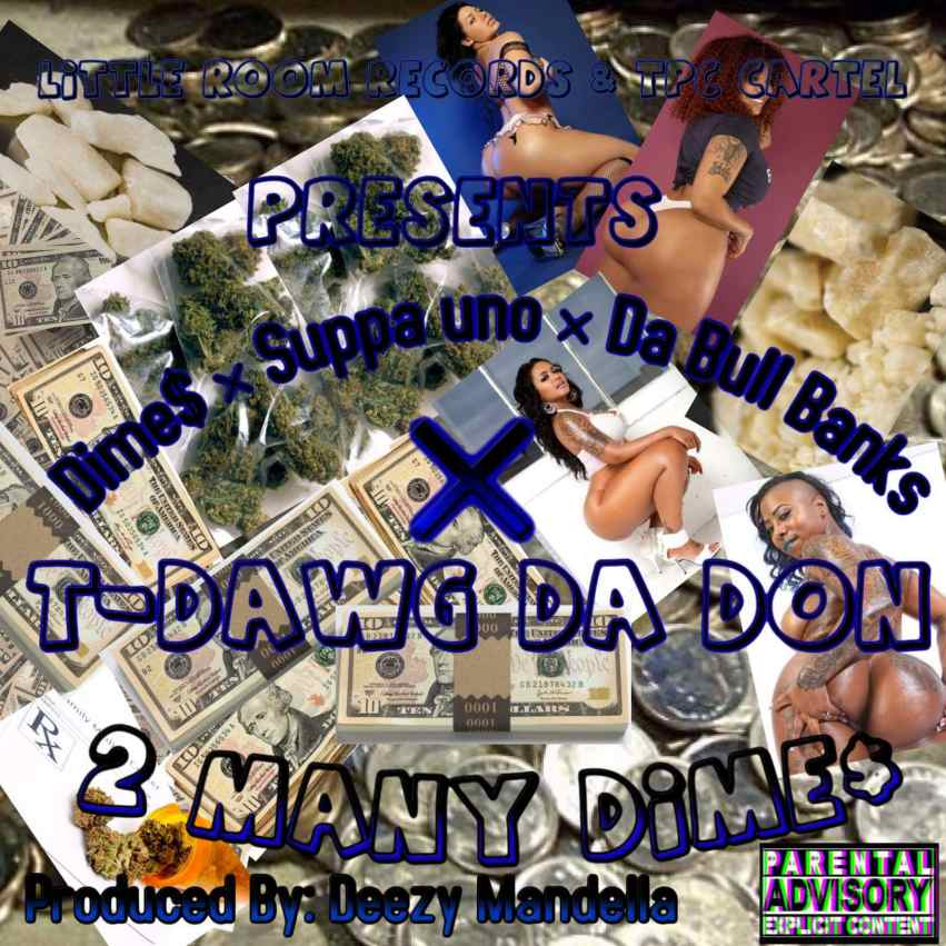 2 Many Dimes Single Cover
