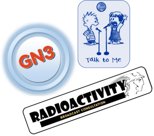 Radioactivity with research for GN3 and Talk To Me