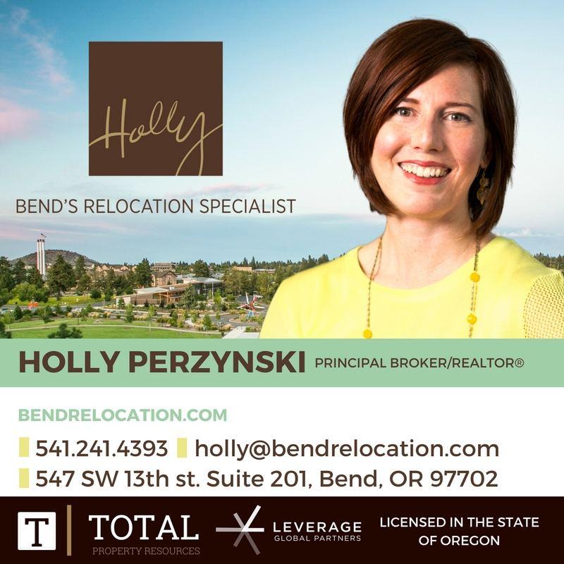Holly Perzynski, Bend's Relocation Specialist