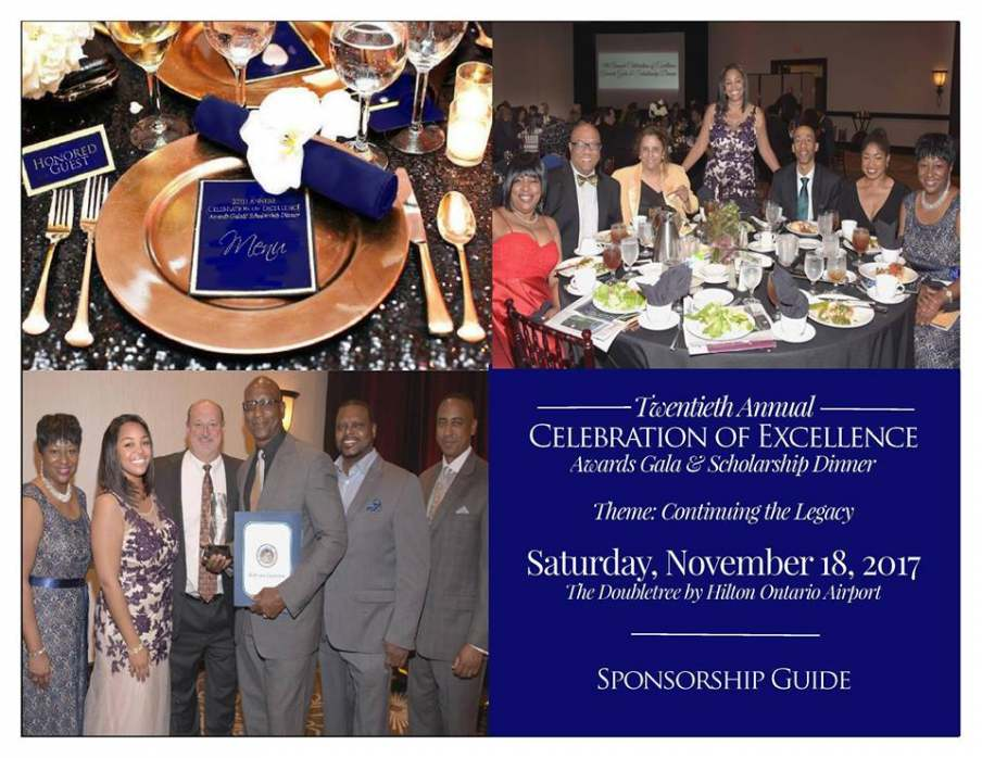 20th Annual Celebration of Excellence Awards Gala & Scholarship Dinner