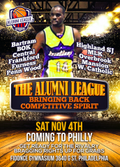 The Alumni League - Basketball Rivalry Philly Style