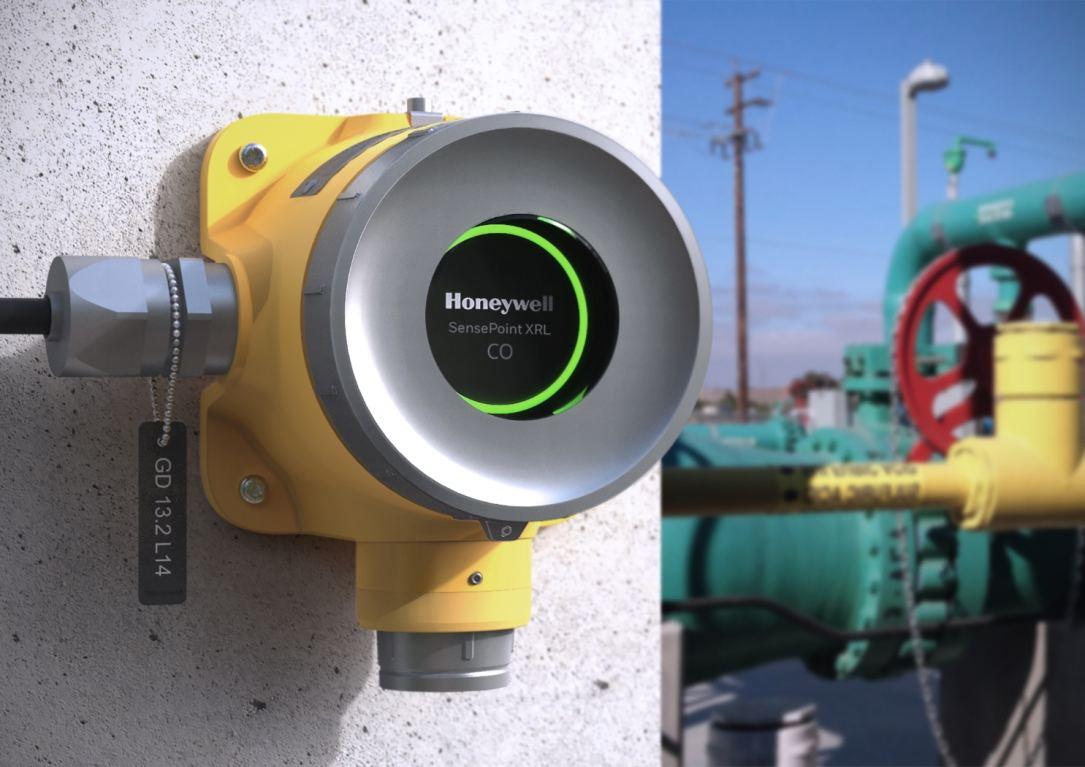 Honeywell Sensepoint XRL gas detector for explosive-area applications