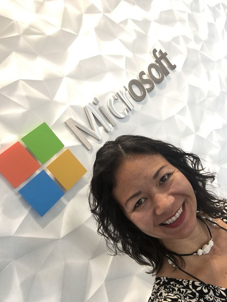 Speaker, Trainer, Consultant, Christina Aldan at Microsoft Chicago