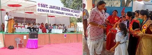 BET Director MajGen SS Nair AVSM Olympian Krishna Poonia Chief Guests JMA Pilani