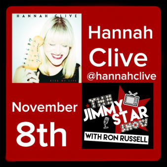 Hannah Clive On The Jimmy Star Show With Ron Russell