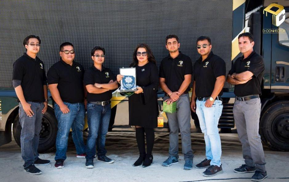 D-Connector Team Awarded.