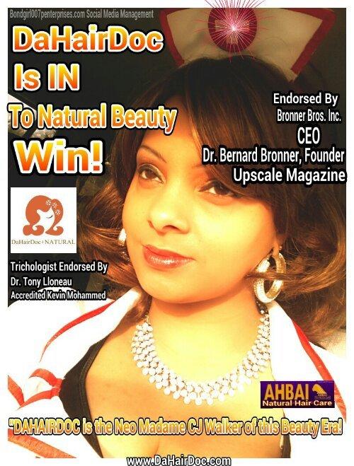 Tracey Bond, AW Lic. Cosmetologist at DaHairDoc.com Brand