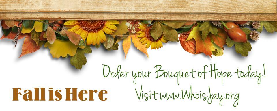 Bouquet of Hope Website Banner