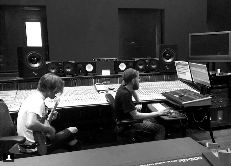 Your Favorite Band tracking at Hybrid Studios