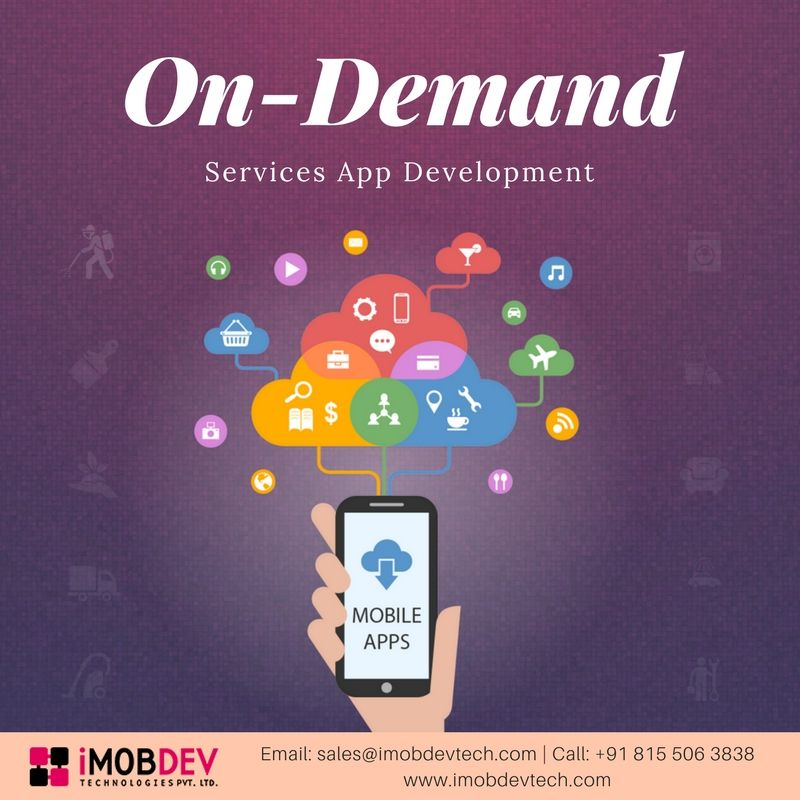 iMOBDEV Provides On-Demand Services App Developmen