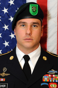 Late U.S. Army Sergeant First Class Ryan Gloyer (Thiel '04).