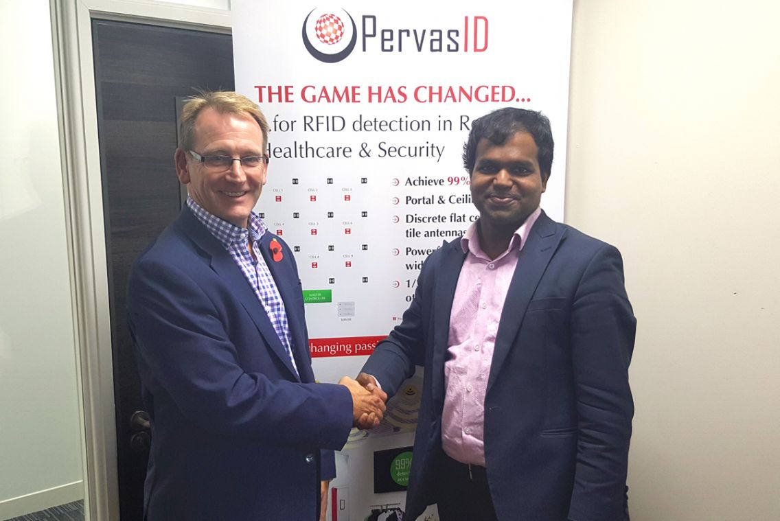 Partnership between Harland Simon and PervasID