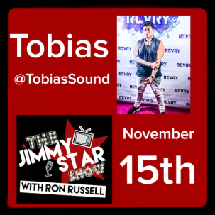 Tobias on The Jimmy Star Show With Ron Russell