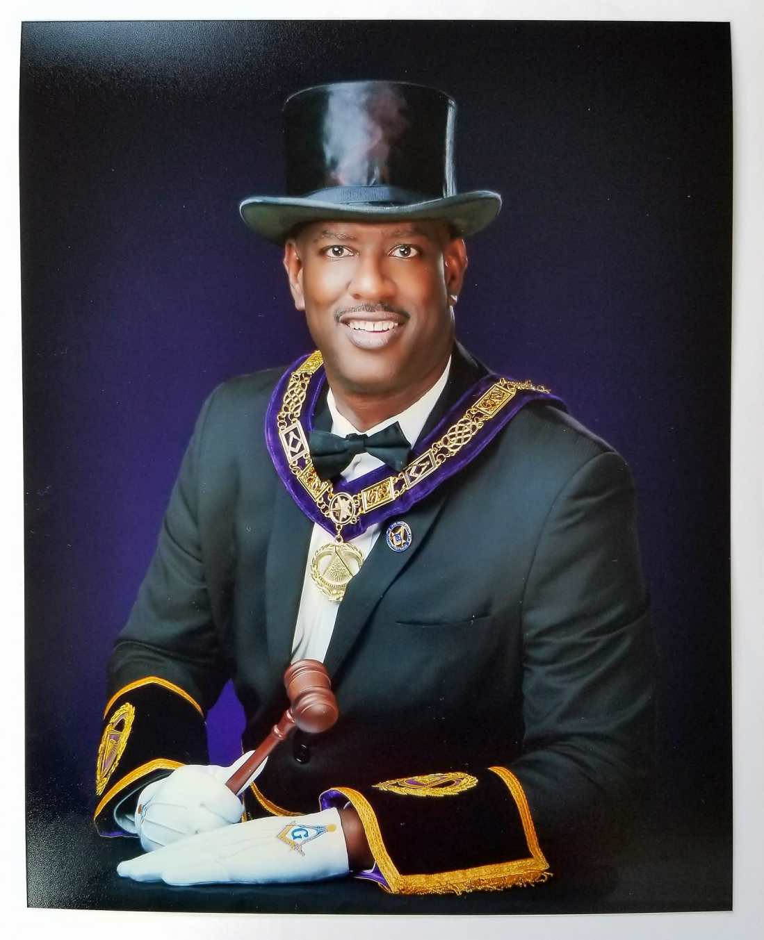 Hon. Omar Scaife, 33°, Most Worshipful Grand Master