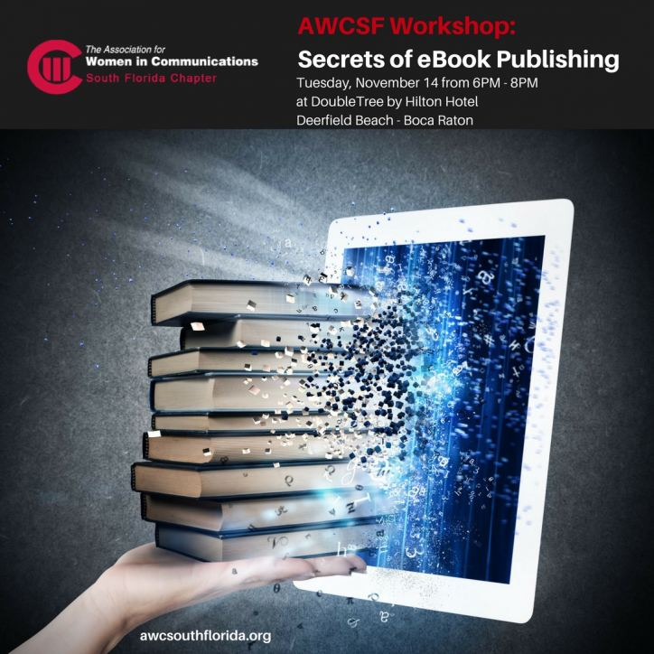 AWCSF Workshop: Secrets of eBook Publishing