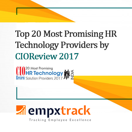 CIOReview Recognized Empxtrack as Most Promising HR Technology Provider