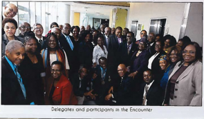Delegates and participants in the Encounter