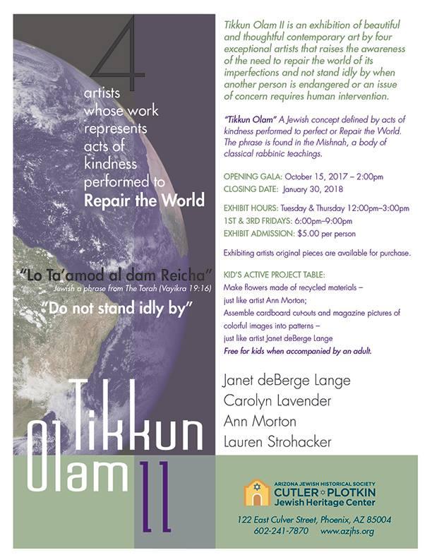 Tikkun Olam II - Repairing the World