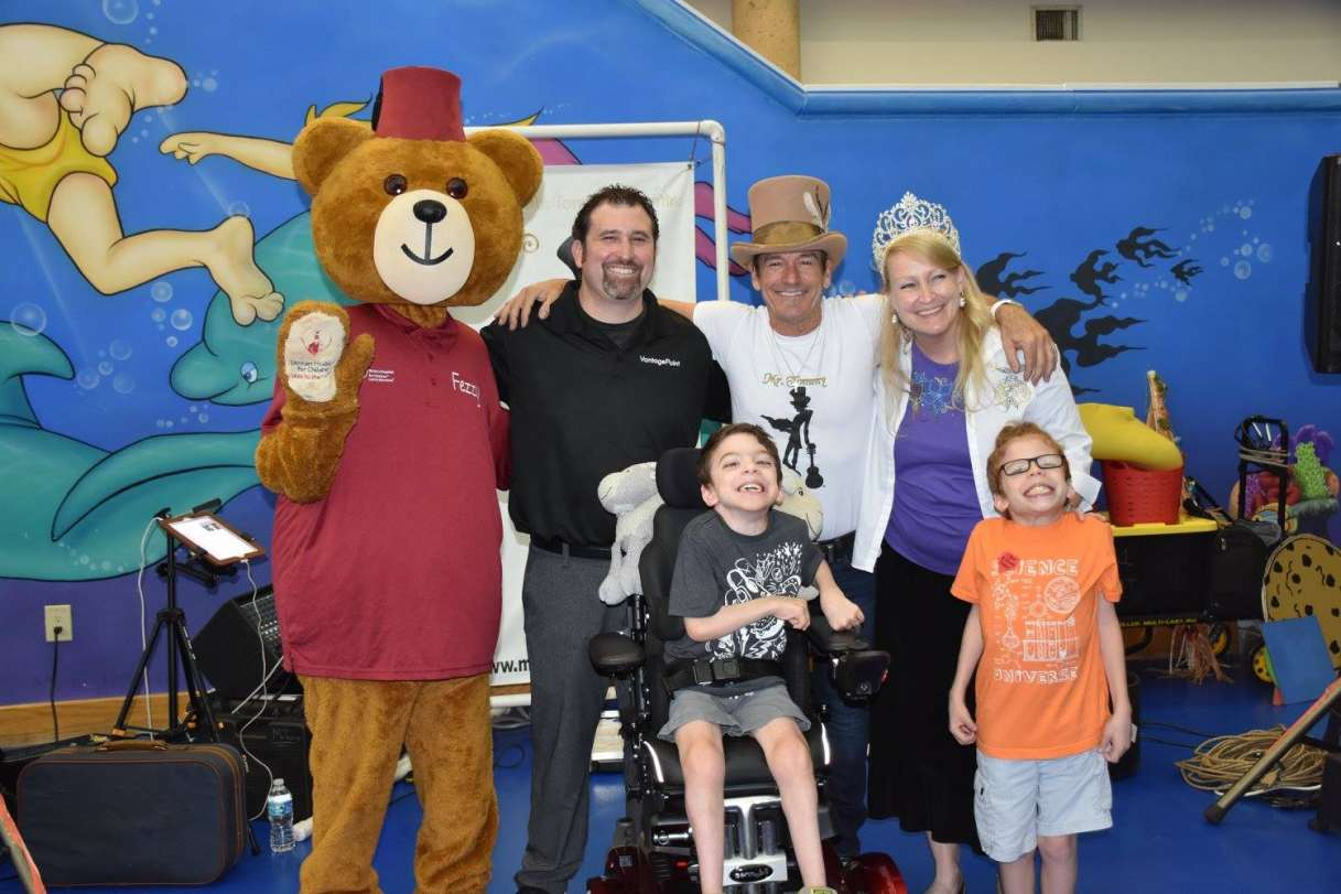 Lane Mendelsohn Vice President with Shriners Guests