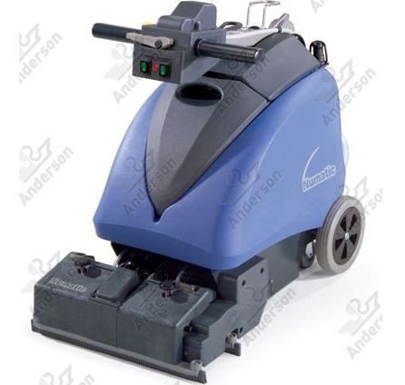 The Numatic Twintec: compact in design and easy to manoeuvre yet still powerful