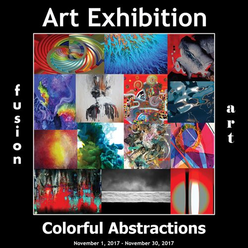 3rd Annual Colorful Abstractions Art Exhibition