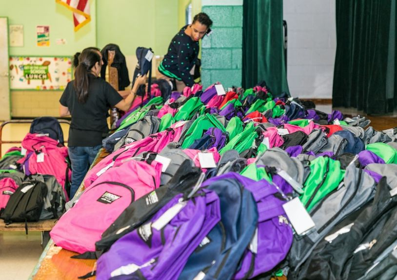 Yours Humanly Backpacks for Houston 2017