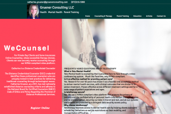 Gruener Consulting Online Counseling