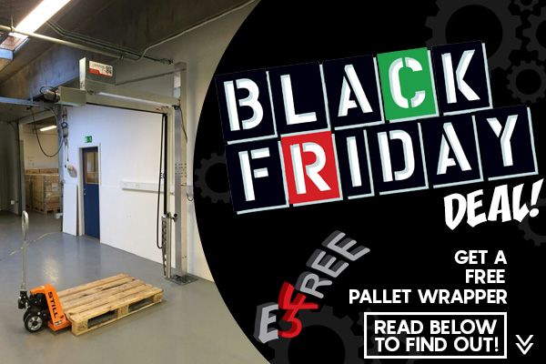 E3 Wrap for FREE - Black Friday Deal - Free Pallet Wrapper
