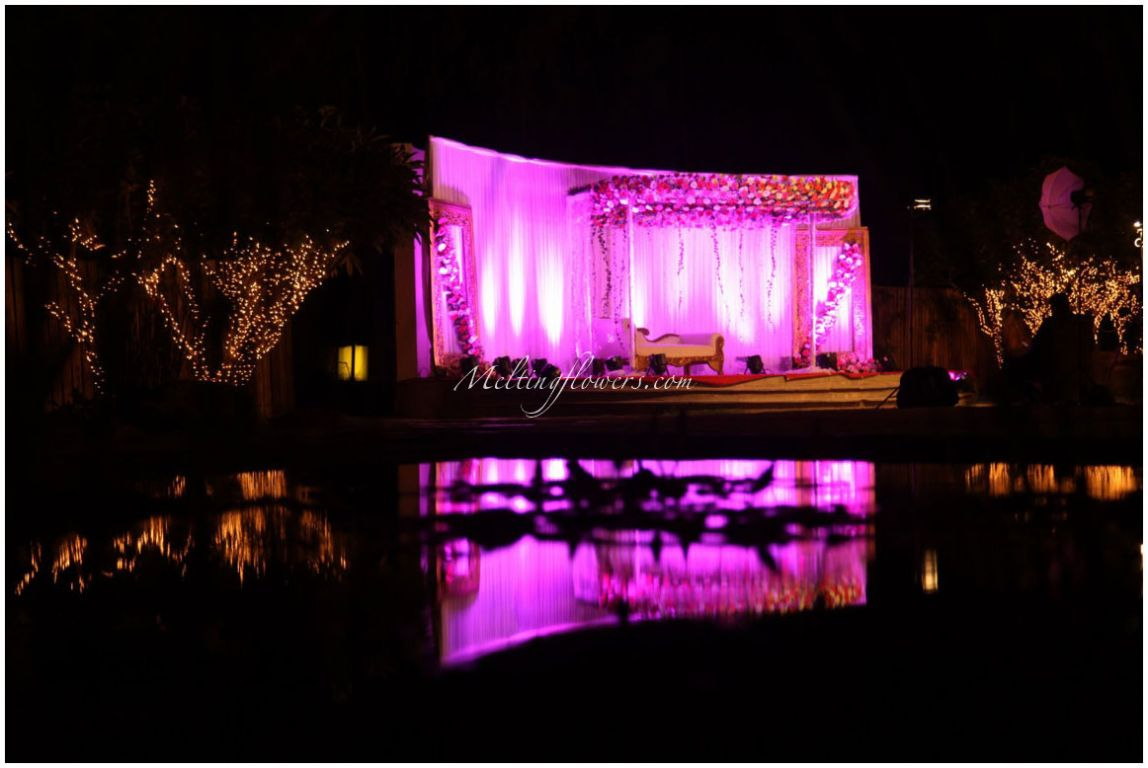 Stunning indian theme wedding decoration ideas melting flowers indian wedding decoration themes junglespirit Choice Image