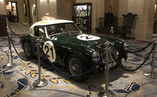 historic austin healey features at the royal automobile club denis welch motorsport prlog. Black Bedroom Furniture Sets. Home Design Ideas