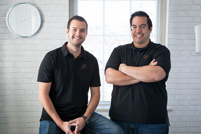 Quality Logo Products Co-Founders Michael Wenger and Bret Bonnet.