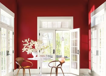 Caliente AF-290 - Benjamin Moore - Color of the Year 2108