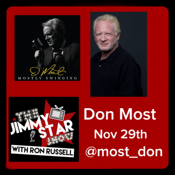 Don Most on The Jimmy Star Show With Ron Russell