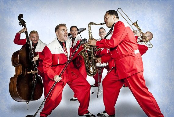 Swing 39 n the holidays with the jive aces at adelphi - Garden city ny distribution center ...