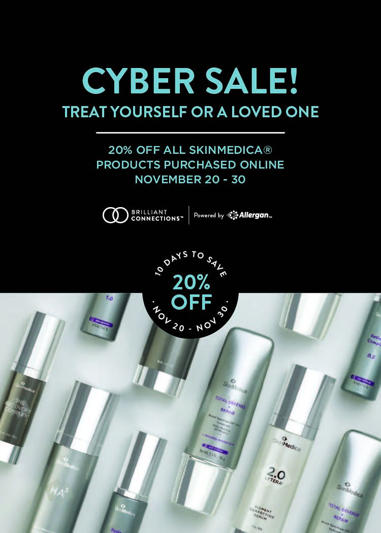 Erasable Inc. SkinMedica Cyber Sale