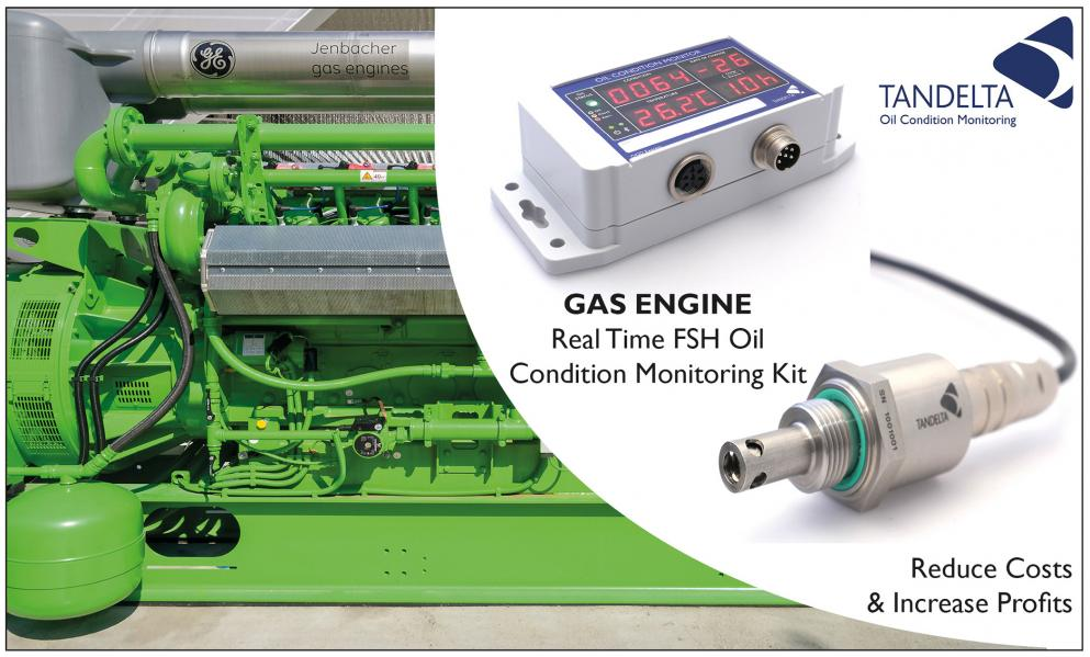Gas Engine Oil Condition Monitoring