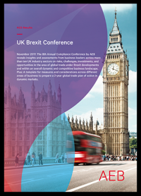 AEB's Brexit report can be downloaded free of charge