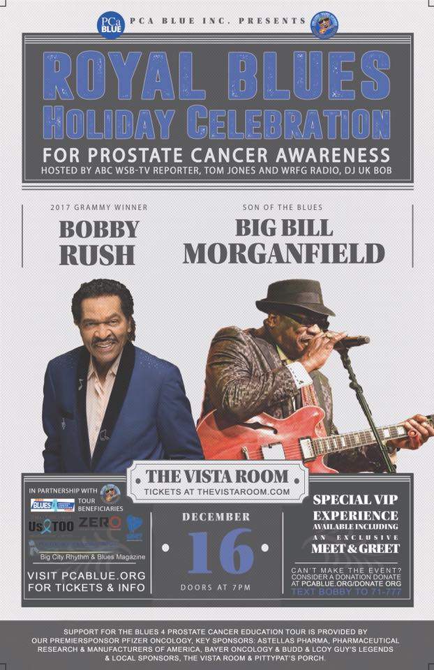 Royal Blues Holiday Celebration for Prostate Cancer