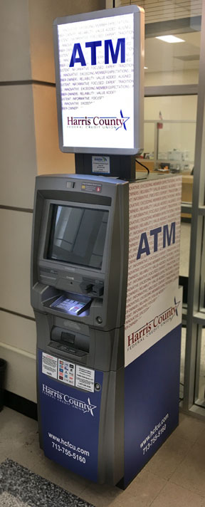 Harris County FCU Selects Dolphin Debit to Manage its ATM Fleet