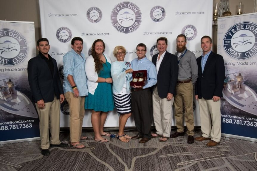 Freedom Boat Club Franchise of the Year Winners