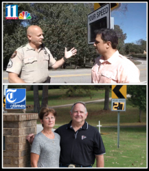 Radarsign donated a radar speed sign to the Hall County Sheriff's Office