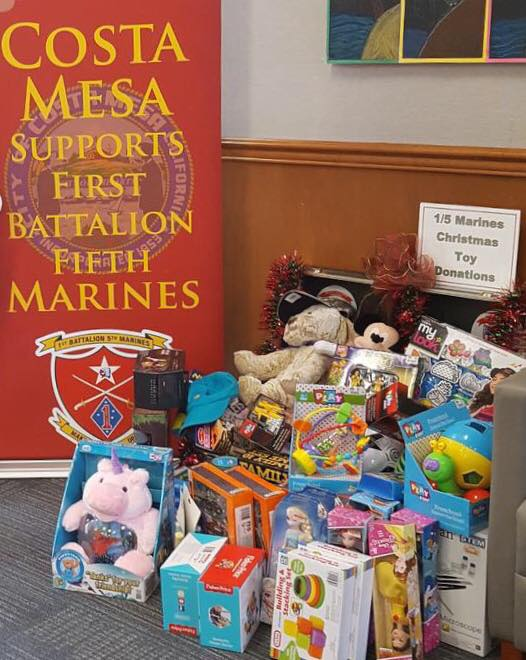 Costa Mesa Military Team for Families Needs Your Donations Before Dec. 7th