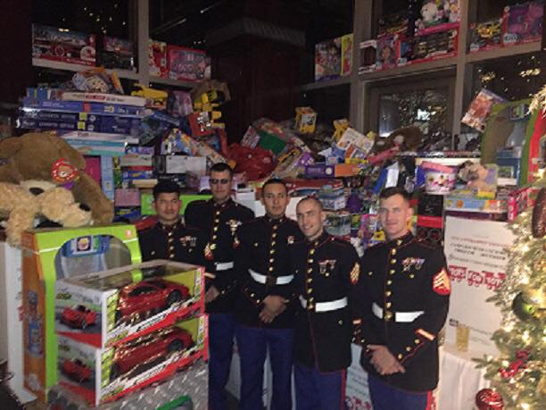 Toys For Tots 2017 North Carolina : Local chiropractor sponsors a veteran s event
