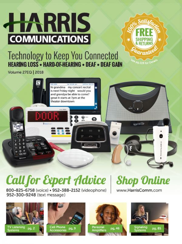 Request a free Harris Communications catalog at www.harriscomm.com.